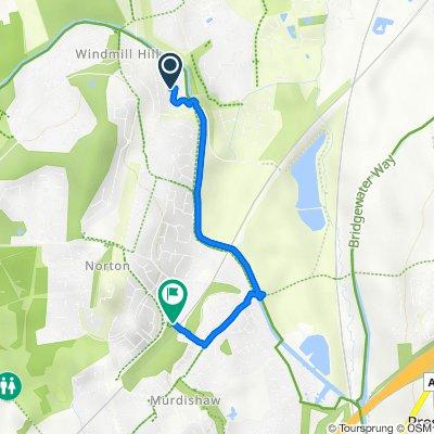 Adlington Road 18, Windmill Hill to Barnfield Avenue, Cheshire
