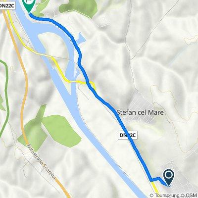 Route to Strada Medgidiei, Cernavoda