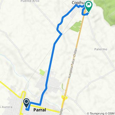 De Dieciocho 265, Parral a L-645, Copihue