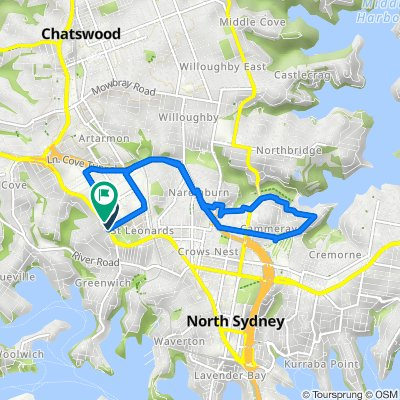 198–200 Pacific Highway, Greenwich to 213 Pacific Highway, Artarmon