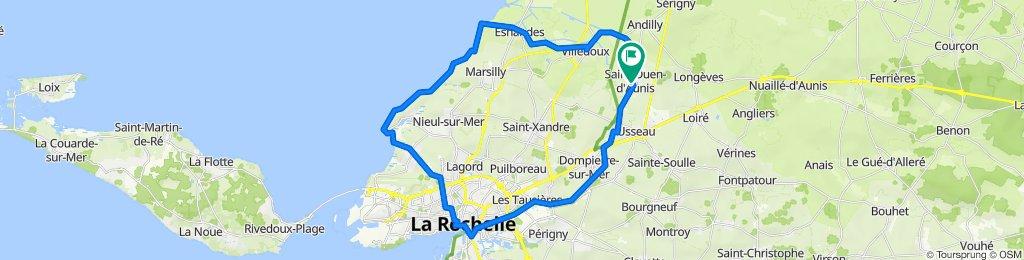 De 8 Rue des Petites Maisons, Saint-Ouen-d'Aunis à 11 Rue des Petites Maisons, Saint-Ouen-d'Aunis
