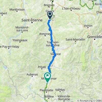Ile du Beurre - Montélimar (FR-MA9)
