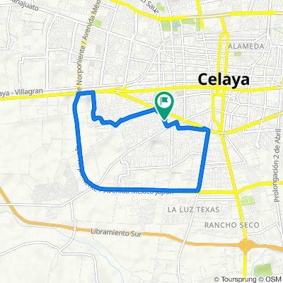 De Cerro del Aguila 132, Celaya a Paseo de la Hacienda 303, Celaya