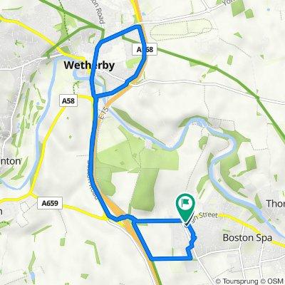 12 Nursery Way, Wetherby to 2 Nursery Way, Wetherby