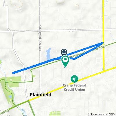 610 Raines St, Plainfield to 519 Raines St, Plainfield