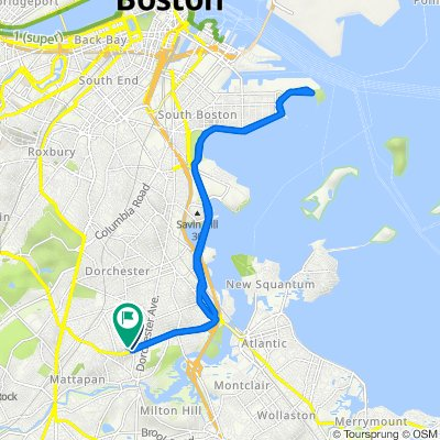 970 Washington St, Boston to 14 Codman Hill Ave, Boston