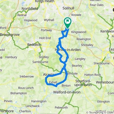 Wixford/Grafton 35 miler
