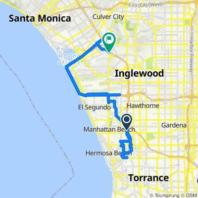 Redondo Beach / Space Park to South Sepulveda Boulevard 6531, Los Angeles
