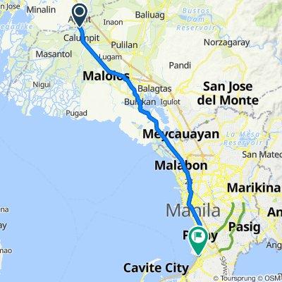 Apalit to Santa Monica Street 3665A, Parañaque City
