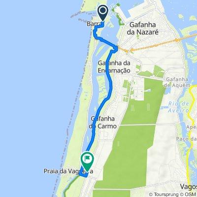 De Rua da Praia 139, Gafanha da Nazaré a Rua Principal 104, Gafanha da Boa Hora