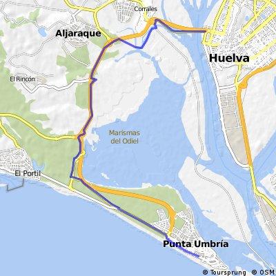 Punta Umbria-Marismas del Odiel-Huelva