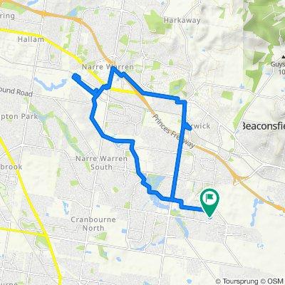 8 Barak Avenue, Berwick to 6 Barak Avenue, Berwick