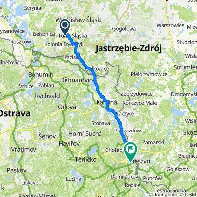 Czyżowice - Český Těšín