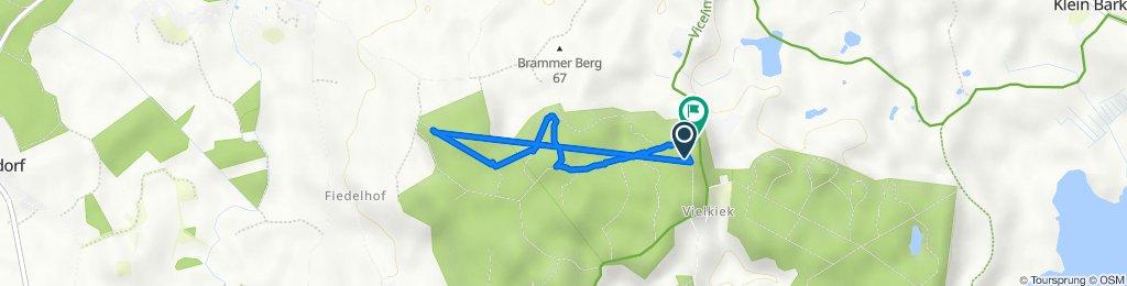 Route nach Fürkiek, Bissee