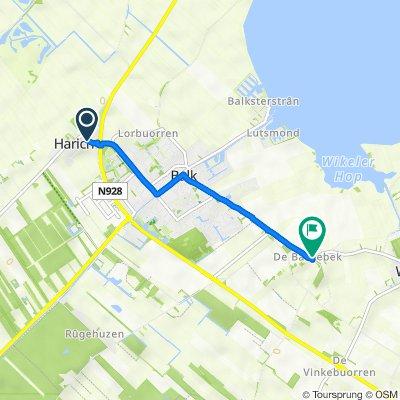 Van der Feltzstraat 15, Harich naar Jachtlustweg 16, Wijckel