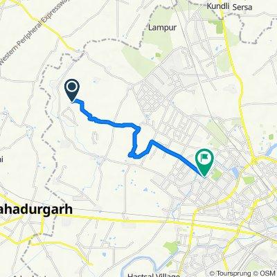 Unnamed Road, Delhi to Tata Power, Delhi