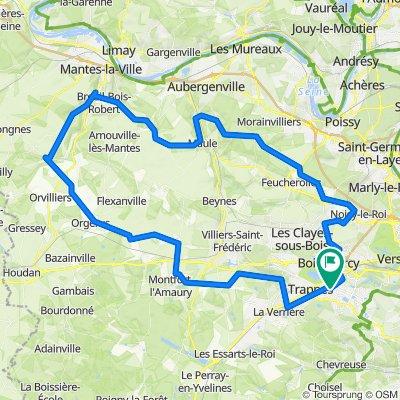 De Rue Jacques Brugnon 2, Montigny-le-Bretonneux à Rue Jacques Brugnon 2, Montigny-le-Bretonneux