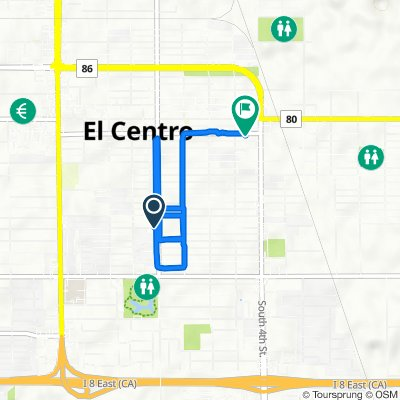 818 Wensley Ave, El Centro to 455 W State St, El Centro