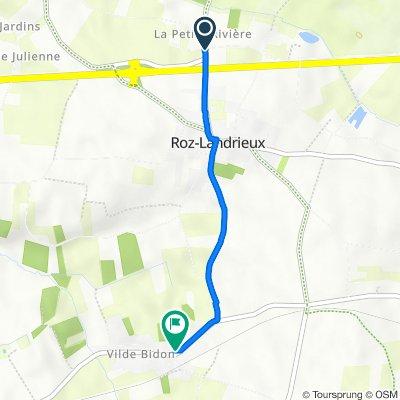 De D78, Roz-Landrieux à 6 Rue Grande, Roz-Landrieux
