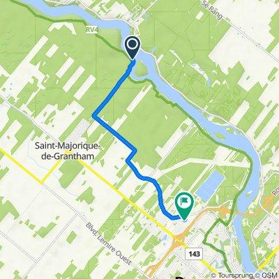 De 2–350 Rang du Bassin, Ste-Brigitte-des-Saults à 4525A Rue Dubois, Drummondville
