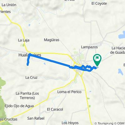 De Calle Chiapas 2216, Linares a Calle Fidel Velázquez 2228, Linares