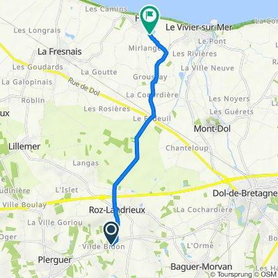 De 1A–5B Rue Grande, Roz-Landrieux à Rue de la Maraze, Hirel