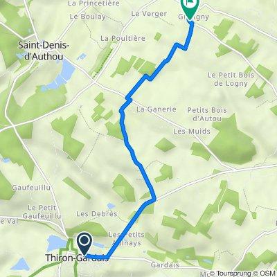De Rue de Gardais 1, Thiron-Gardais à France, Saintigny
