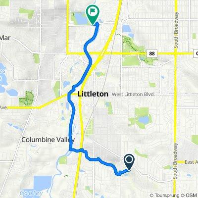 1457 W Briarwood Ave, Littleton to 2501 W Union Ave, Englewood