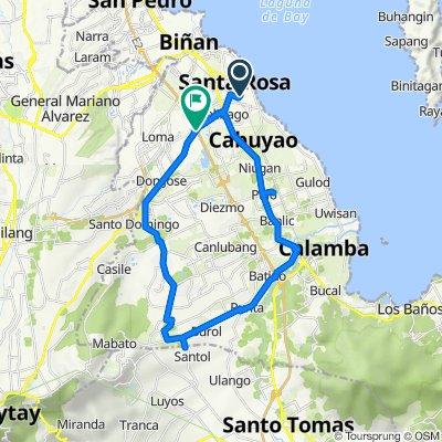 Santa Rosa to Santa Rosa - Tagaytay Road