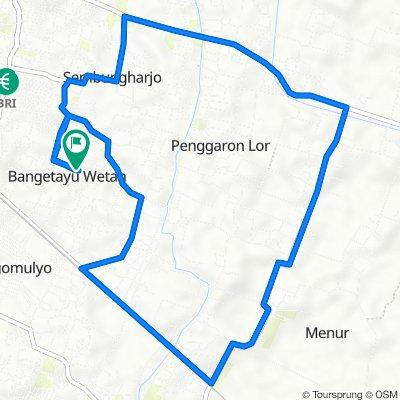 81, Kecamatan Genuk to Jalan Griya Buana Bangetayu, Kecamatan Genuk