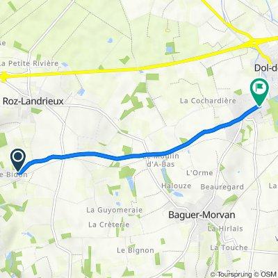 De 6 Rue Grande, Roz-Landrieux à 63 Rue de Dinan, Dol-de-Bretagne