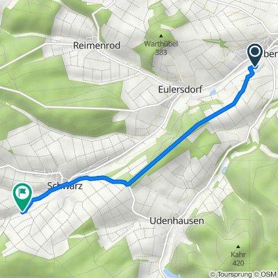 Bornwiesenweg 20, Grebenau nach Reuterser Weg, Grebenau