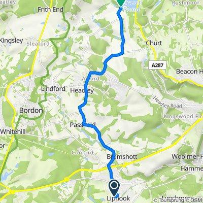 Gooserye Court, 7 Goose Rye Ct, Liphook to Pond Lane, Churt, Farnham