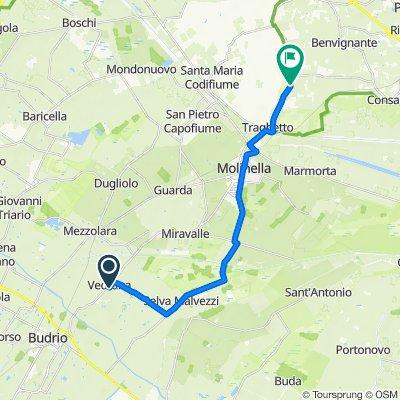 Da Via Ghiaradino 59/C, Il Casino a Via Zenzalino 99–127, Ospital Monacale
