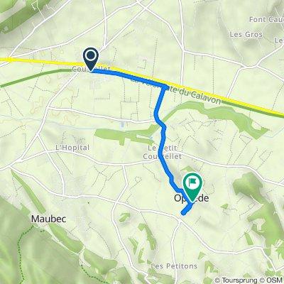 2–448 Quai des Entreprises, Maubec nach 52 Rue de l'Église, Oppède