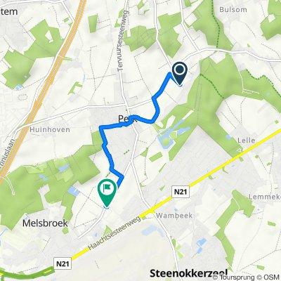 Verdeyenstraat 3, Steenokkerzeel to Perksesteenweg 37, Steenokkerzeel