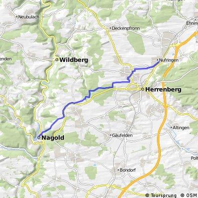 Von Nufringen nach Nagold