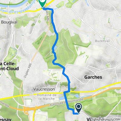 De 3 Place de la Mairie, Marnes-la-Coquette à 338 Avenue Napoléon Bonaparte, Rueil-Malmaison