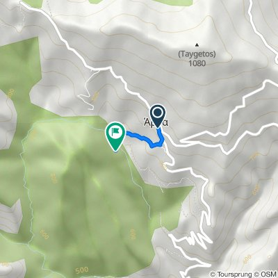 Unnamed Road, Arna nach Unnamed Road, Lakonia