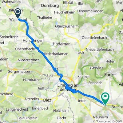 Borngasse 4, Wallmerod nach B8, Brechen