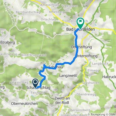 Schauerschlag 20, Oberneukirchen nach Böhmer Straße 5