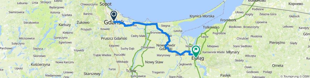 Wycieczka Nr 11/2021 – Gdańsk – Sobieszewo - Elbląg – 25 lipca