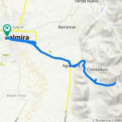 De Carrera 40 33-29, Palmira a Carrera 40 33-23, Palmira