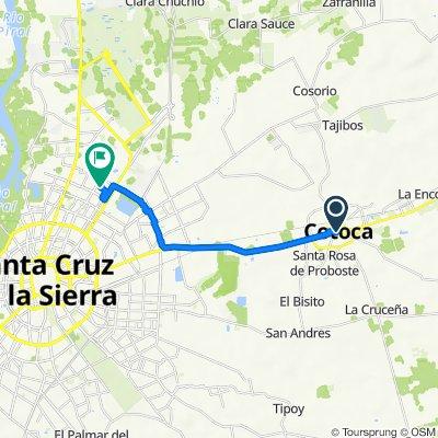 retorno de Cotoca a Paraiso 140, Santa Cruz de la Sierra