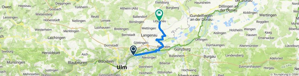 Thalfingen-Riedheim-Rammingen-Lindenau