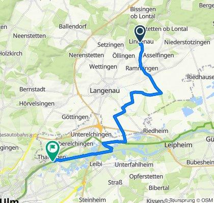 Lindenau-Rammingen-Weissingen-Thalfingen
