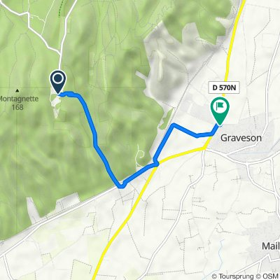 De D81, Tarascon à Avenue de Verdun, Graveson
