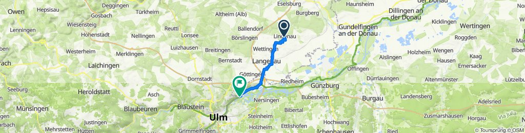 Lindnau-Langenau-Unterelchingen-Thalfingen