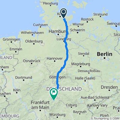 Redder 14, Lebrade nach Pauluspromenade, Fulda