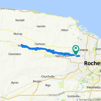 2911 Ridgeway Ave, Rochester to 2901 Ridgeway Ave, Rochester